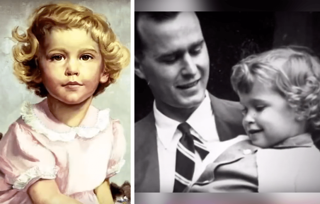 George H.W. Bush Wrote A Heartbreaking Letter 5 Years After The Death Of Age 3 Daughter Robin