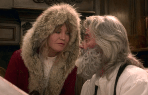 Goldie Hawn as Mrs. Claus and Kurt Russell as Santa Claus, The Christmas Chronicles