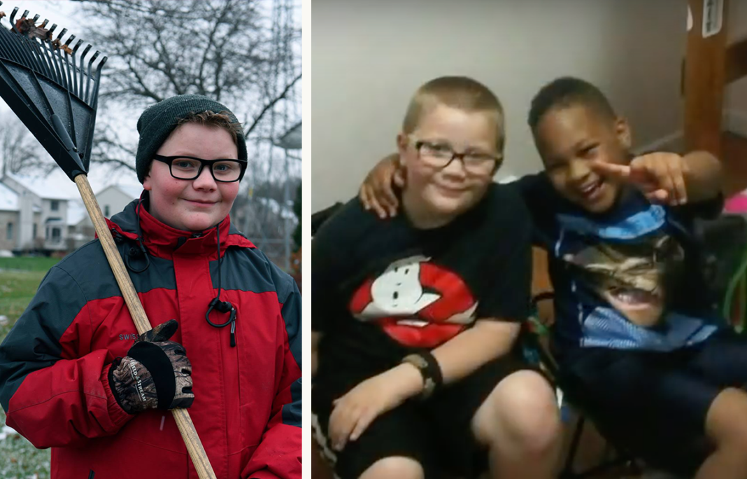 Age 12 Boy Worked For Months To Buy Late Best Friend A Gravestone Before Christmas