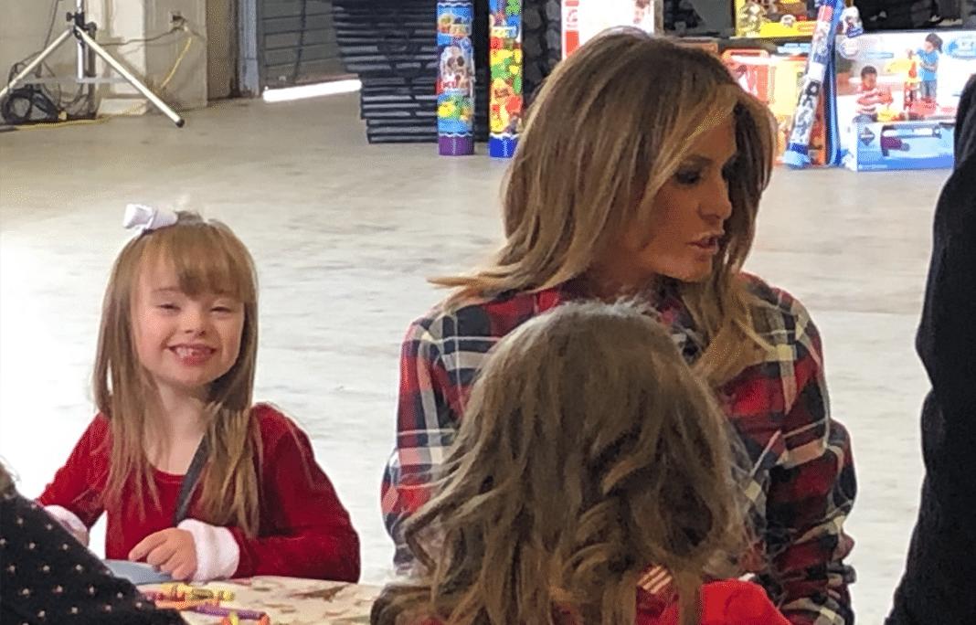 First Lady Melania Trump Makes Age 7 Girl's Christmas Dream Come True
