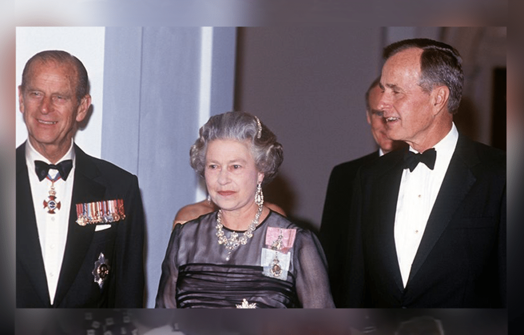 The Queen Pays Tribute To Her 'Great Friend And Ally' George H. W. Bush After His Death