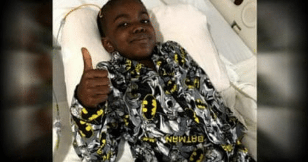8-Year-Old Boy Celebrates After Beating Stage 4 Brain Cancer