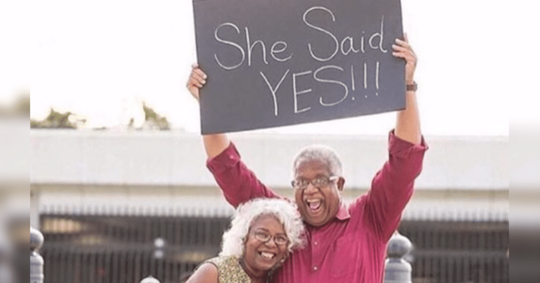 Age 71 Man Prayed To Find Love Again, Had No Idea His Answer Was A Secret Admirer Sitting Nearby