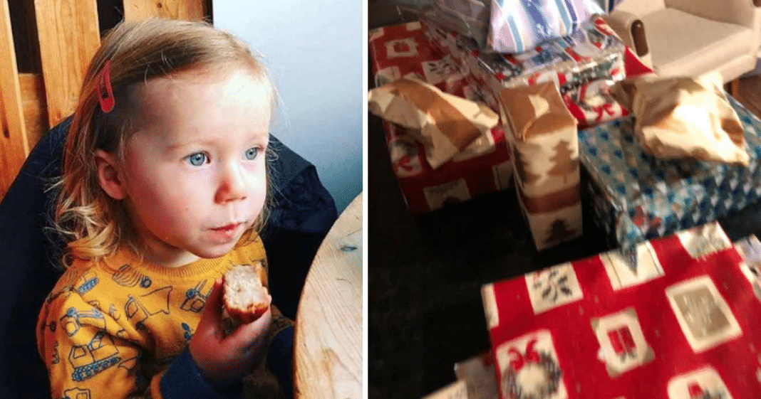 Dying Man Leaves Neighbor's Age 2 Daughter 14 Years Of Christmas Gifts Before His Death