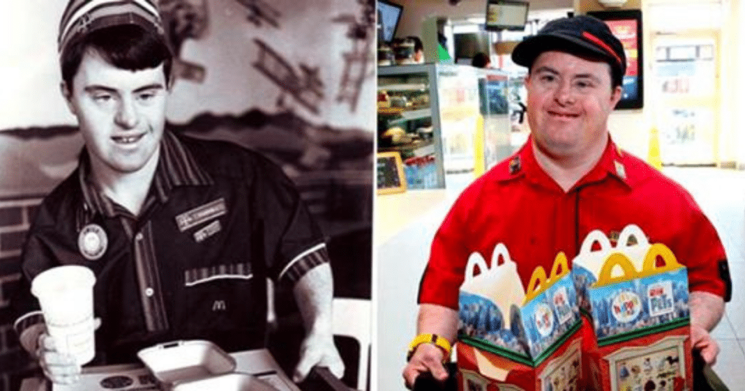 McDonald's employee with Down syndrome retires after serving smiles for 32 years