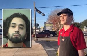 Daniel Hunter, an employee at a Wendy's restaurant, Kenneth Lopez Toledo