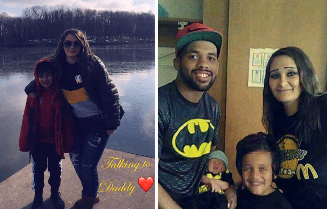 Heather and Malik Williams with family via GoFundMe/Facebook