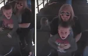 Ginger Maxville, school bus driver, Heimlich maneuver