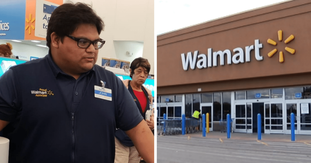 Age 19 Walmart Cashier Pays Distraught Woman's $110 Total From Own Pocket After She Couldn't Pay
