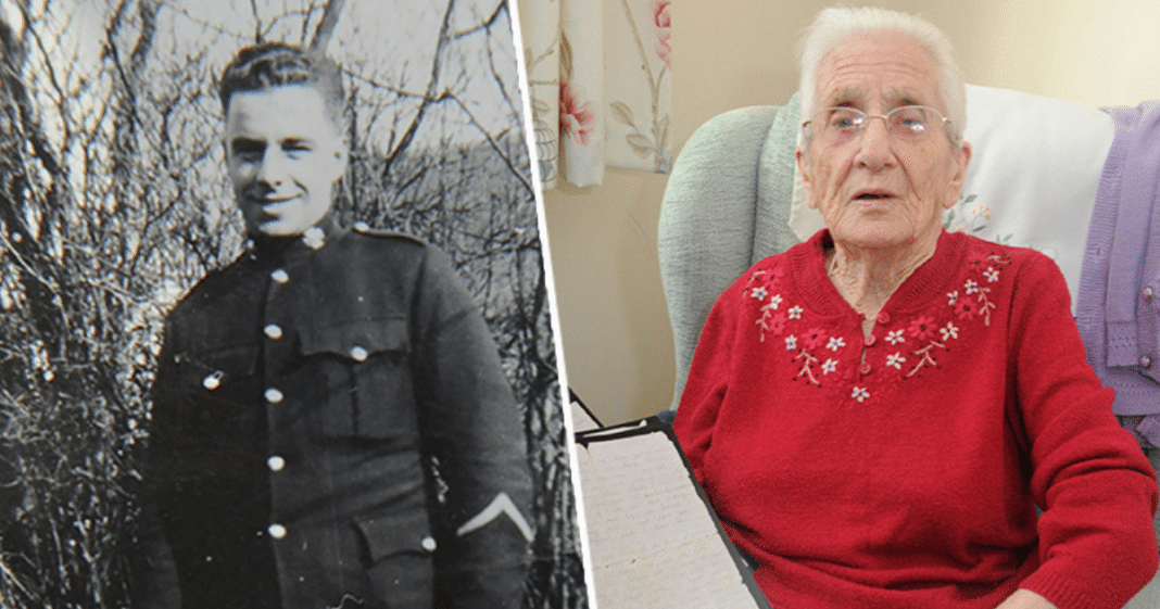 Age 99 Grandma Gets Hand-Written Love Letter From Fiancé 77 Years After He Went Missing In World War II