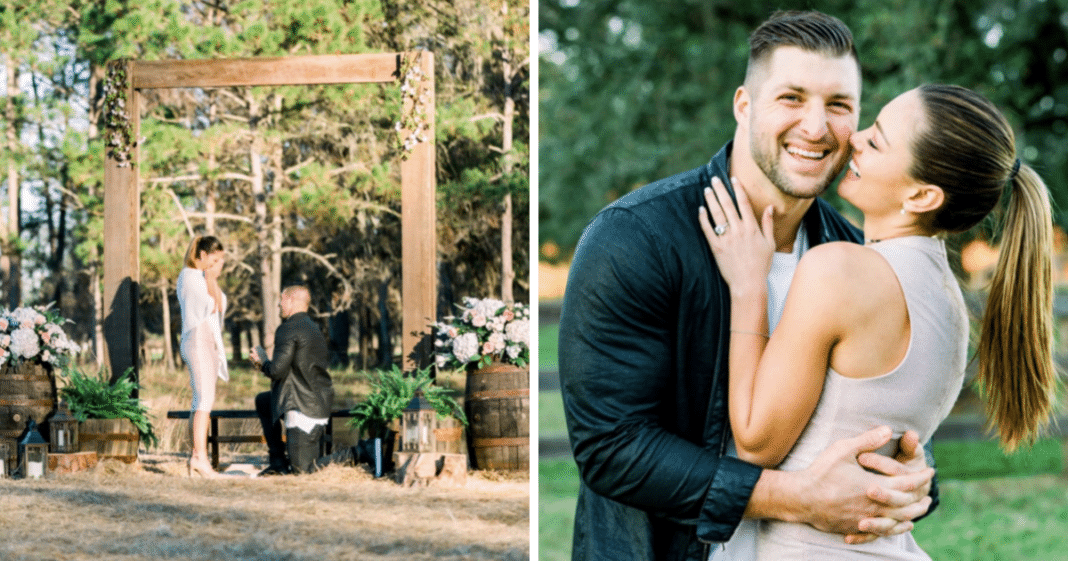 Tim Tebow takes a knee … to ask his girlfriend to marry him! — 'I'm really blessed'