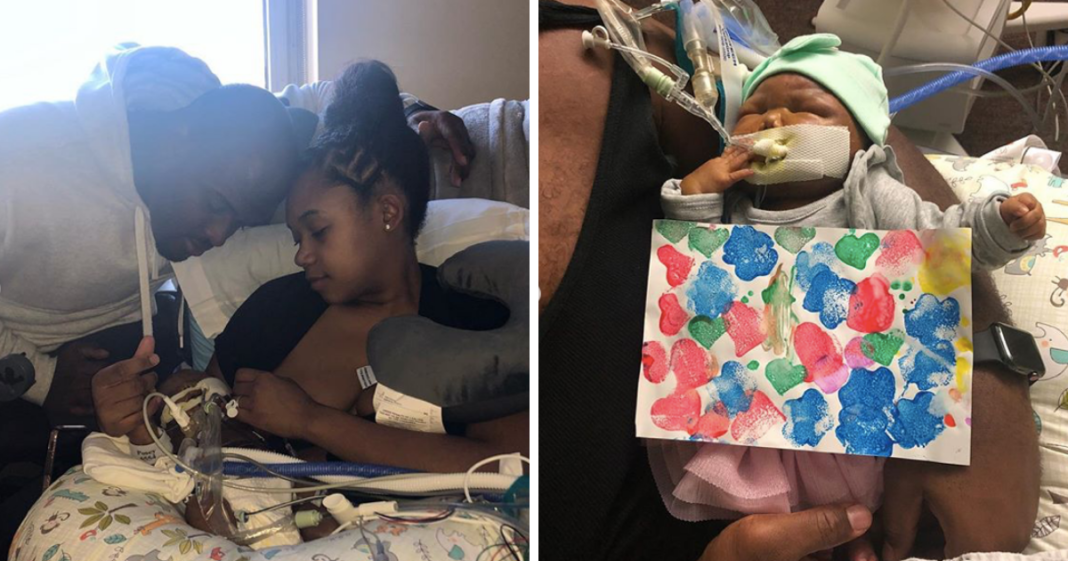 NFL player's infant daughter dies from Trisomy 13. now he's remembering her time on earth