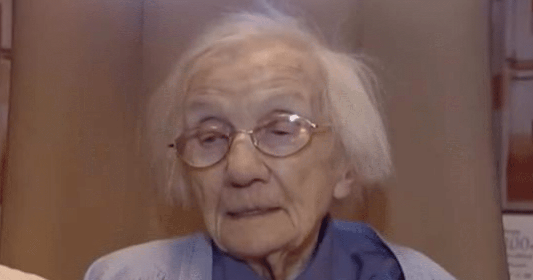 109-year-old reveals her secret to a long life: avoiding men