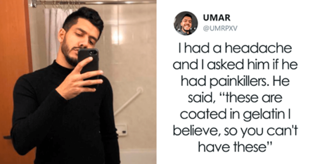Muslim man posts on social media how his Jewish co-worker treats him every day