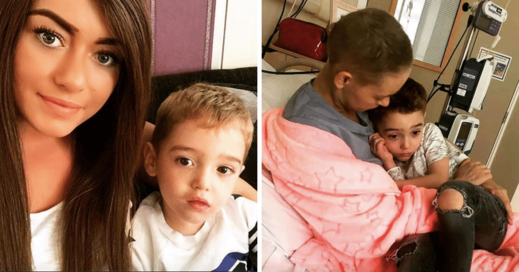 26-year-old single mom battling aggressive cancer is forced to tell son she's dying and will leave him behind