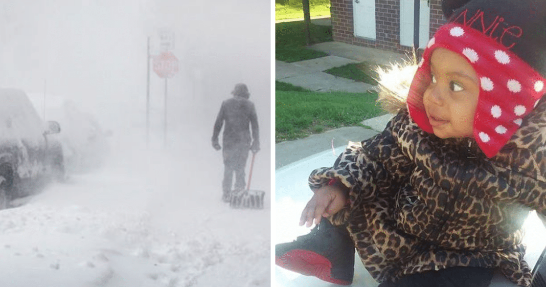 Age 2 girl left outside in the freezing cold by parents dies of hypothermia