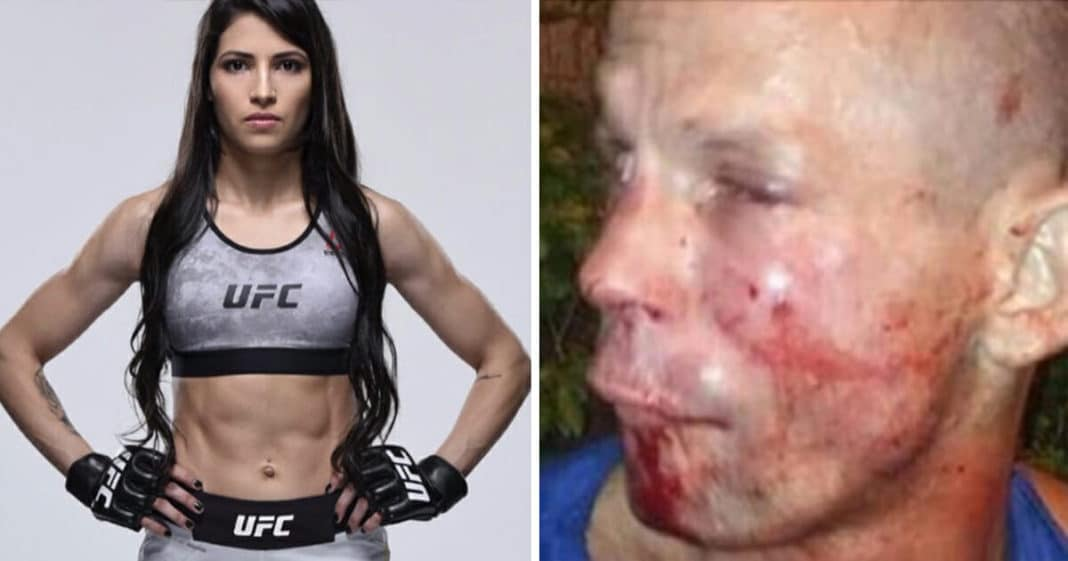 Robber tries to mug female MMA fighter – pays dearly for his mistake