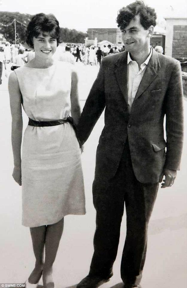 Winston and Janet Howes, 1962 (Photo: Facebook)