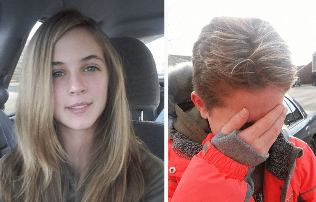 Cruel dad chops off teen daughter's hair as punishment for birthday gift she got from mom