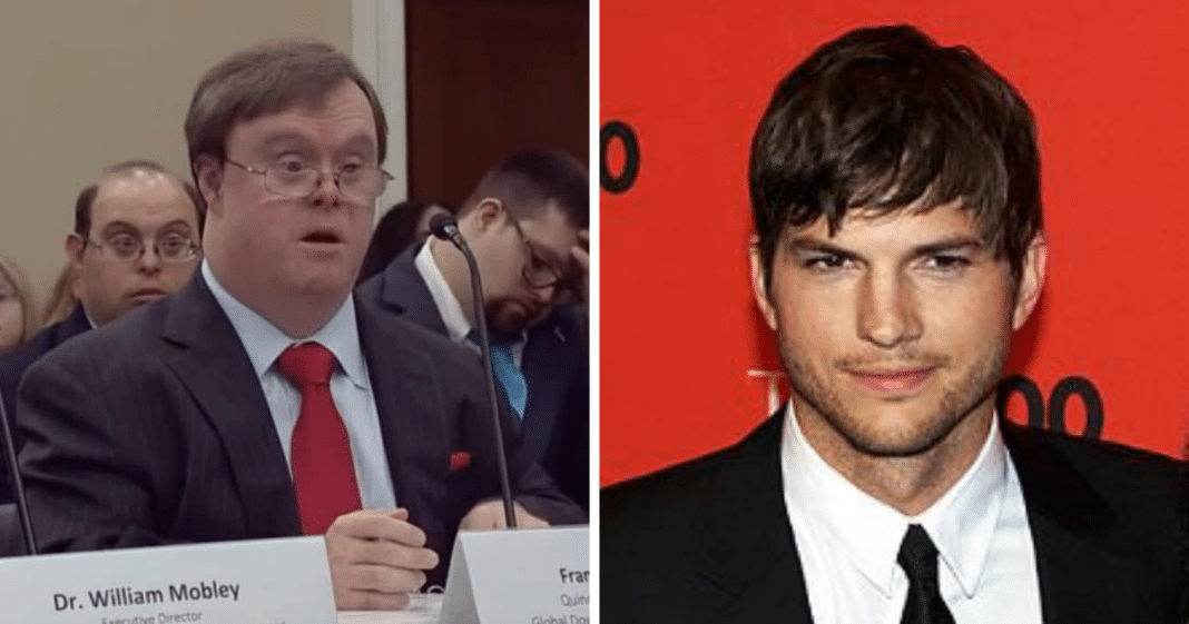 Actor Ashton Kutcher shares a powerful video about abortion, and it's going viral