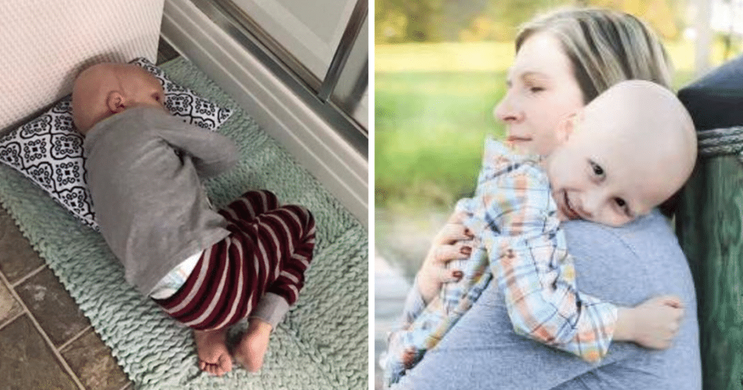 Dying 4-year-old boy tells mom he'll wait for her in heaven before passing away