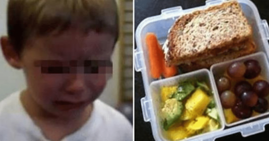 Mom outraged after teacher throws age 4 son's school lunch snack away in front of entire class