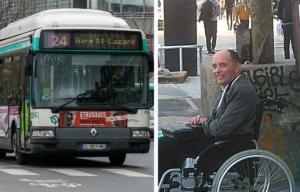 François Le Berre, Paris bus