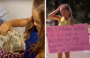 "Addison ""Addie"" Bryan fundraising for Texas Scottish Rite Hospital"