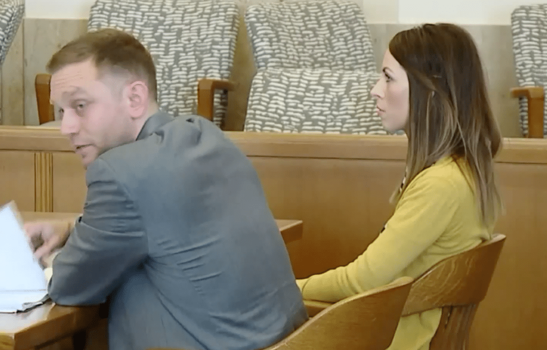 Hatfield in court via Fox4-kc