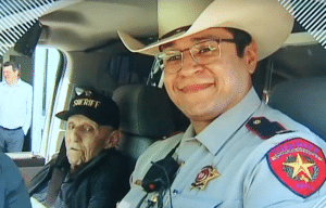 Lt. Roland Martinez and Eddie Ogdee