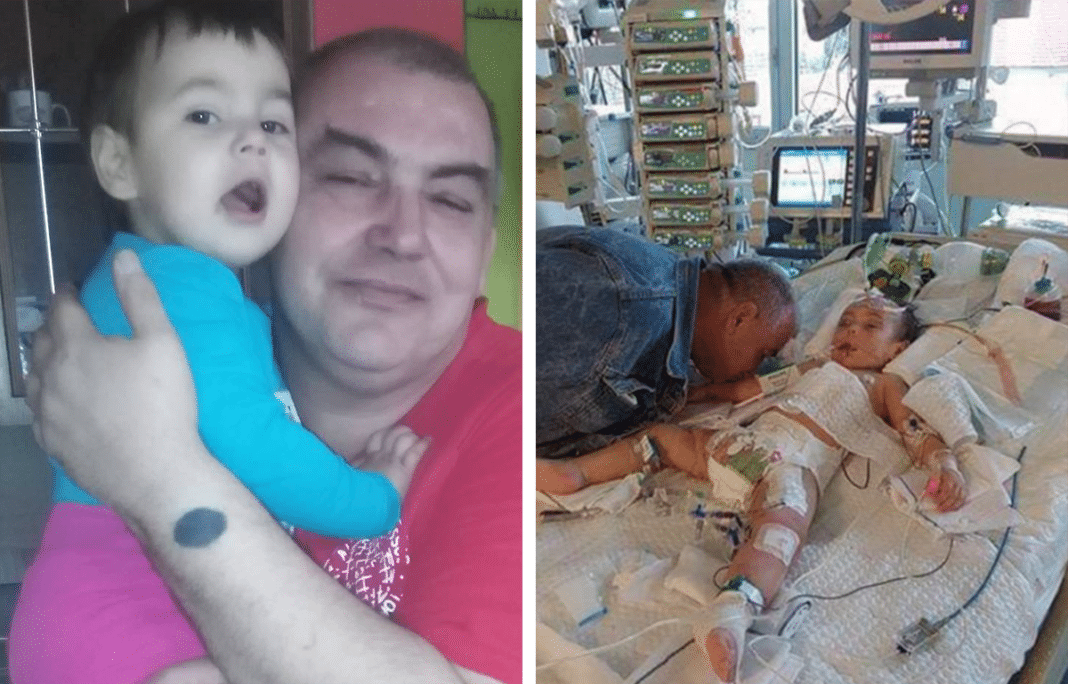 """""""Goodbye, my darling"""": Heartbroken dad gives last kiss to young daughter killed by her mom"""