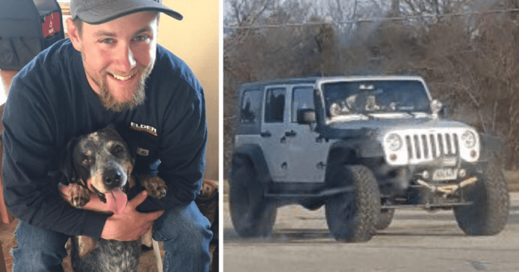 Worried man notices odd silver jeep has been parked at Walmart for weeks – decides to approach driver