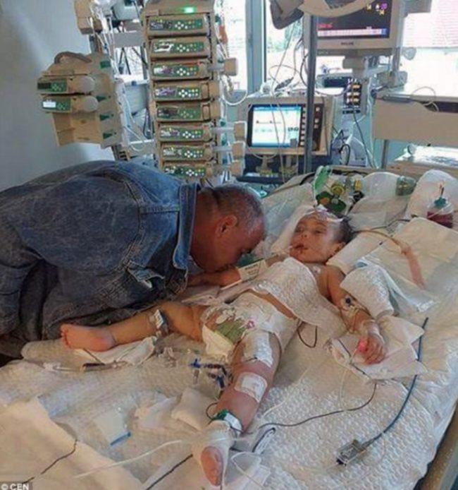 Senad Kardasevic says goodbye to his darling daughter Arina
