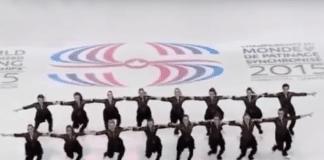NEXXICE performs at the 2015 ISU World Synchronized Skating Championships