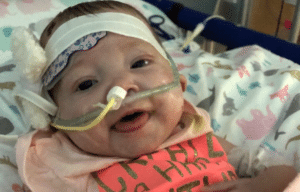 6-month-old Autumn Fox has been a fighter her whole life