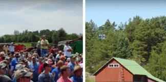 Nebraska farm, farm auction