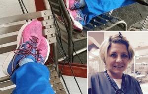 Jodi Back, nurse shoes