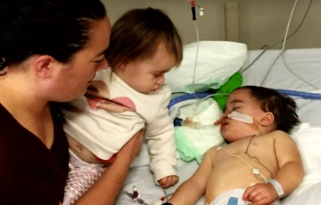 Toddler paralyzed, left with permanent brain damage after eating a slice of raw apple at daycare