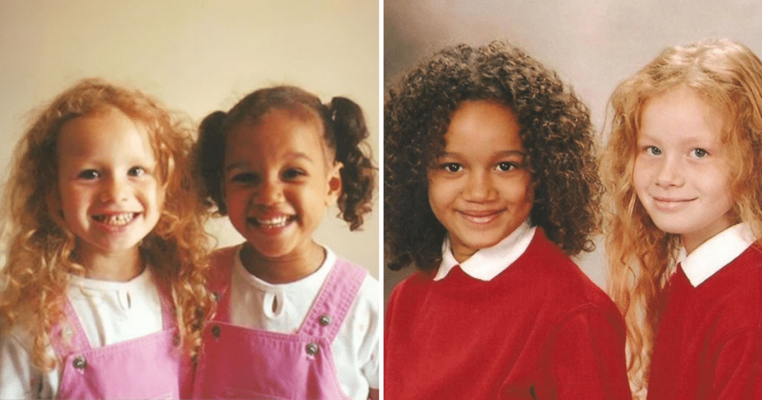 Nobody believed these girls were twins – just wait until you see what they look like 20 years later