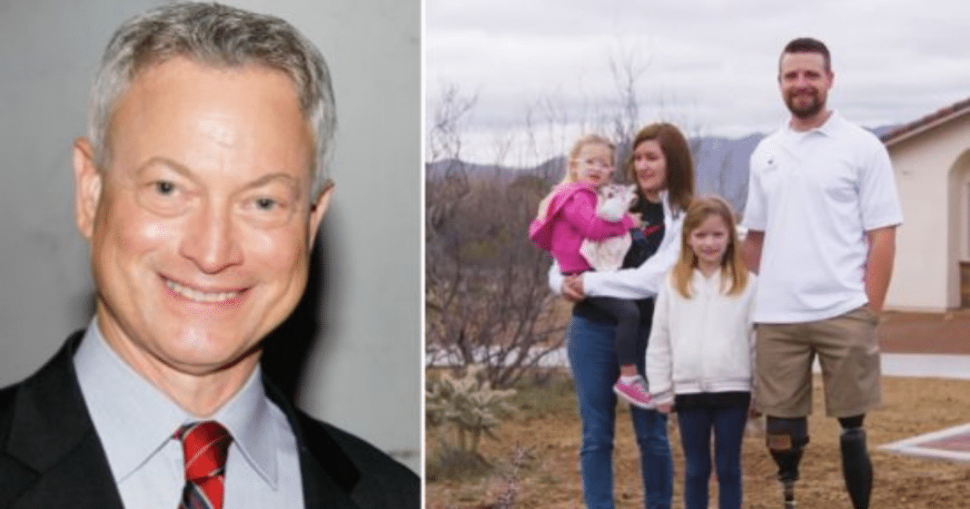 Gary Sinise gifts brand new smart home to ex-Green Beret whose legs were blown off in Afghanistan