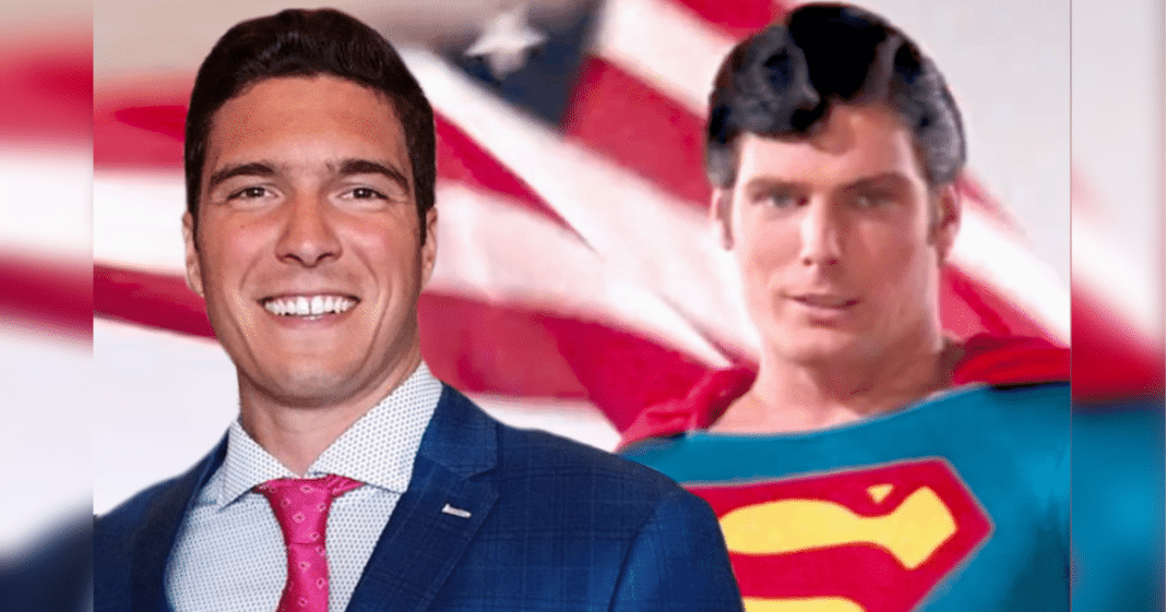 Christopher Reeve's son is all grown up – and he's the spitting image of his Superman dad