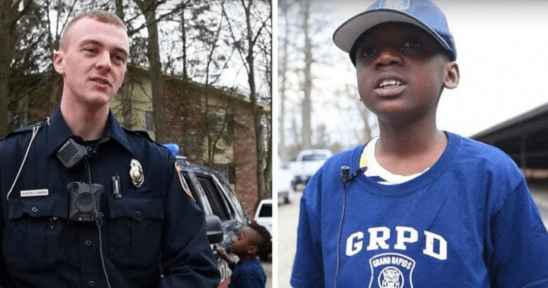Bullied 9-year-old invites cop to his birthday party, officer arrives to learn no one else showed up for him