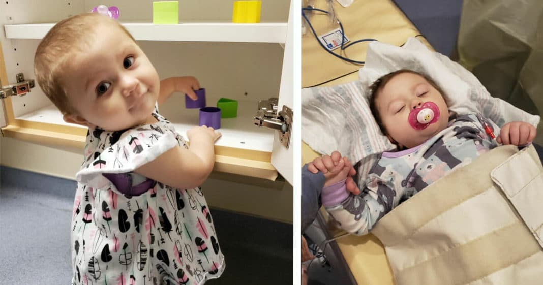 21-month-old girl beats stage 4 cancer after 15 grueling months of treatment