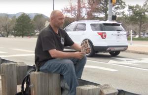 Darin Barton, homeless hero, Lakewood, Colorado