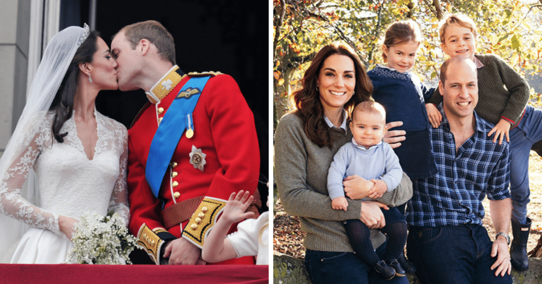 Prince William and wife Kate Middleton celebrate their wedding anniversary – help wish them well