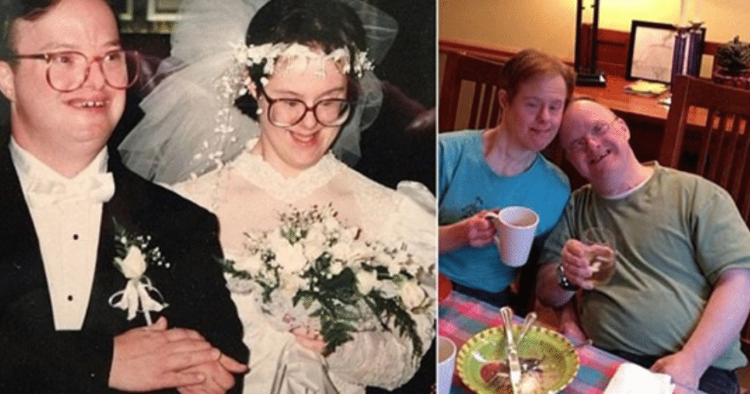 'World's longest' Down syndrome marriage ends after 25 years together as husband dies