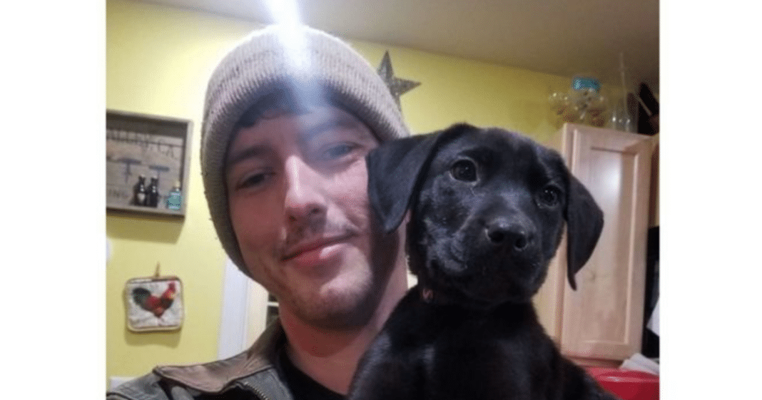 Deaf man adopts a rescue puppy who's also deaf and teaches him sign language