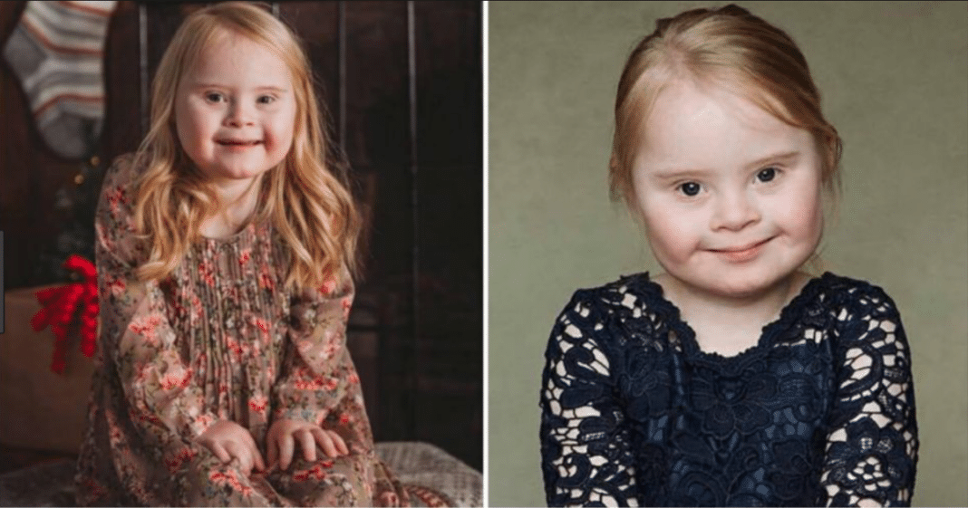 Meet Grace: a 7-year-old with Down syndrome who has a successful modeling career