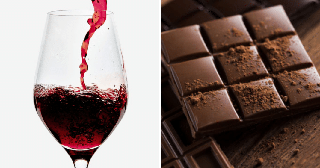 Study finds that drinking red wine and eating chocolate could help prevent aging
