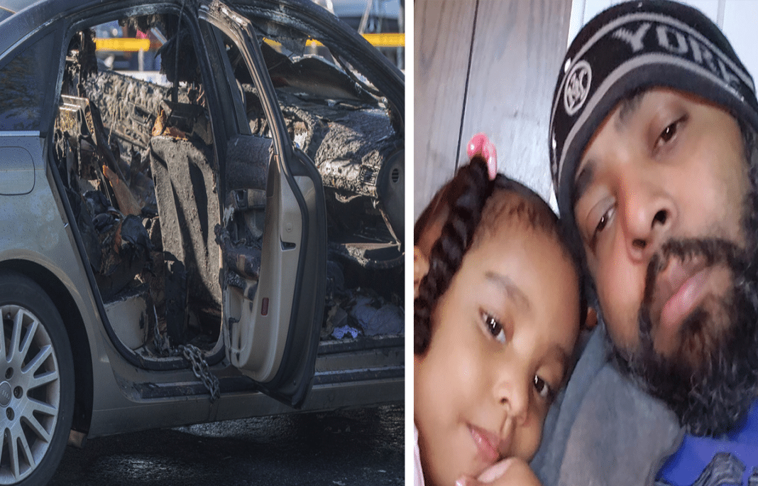 3-year-old girl tragically dies after being left inside of a burning, locked car